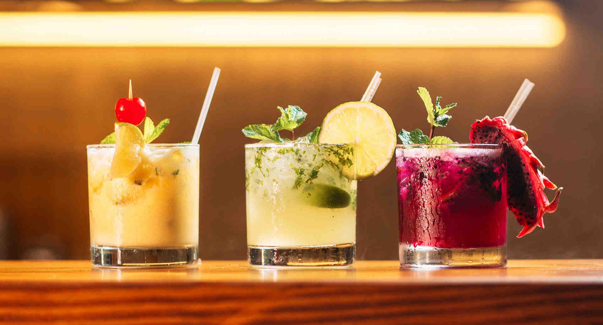 Quelles boissons y a-t-il au bar?