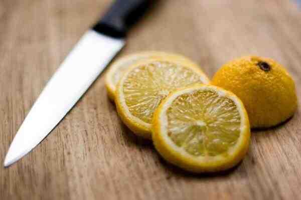 Comment couper citron cocktail ?