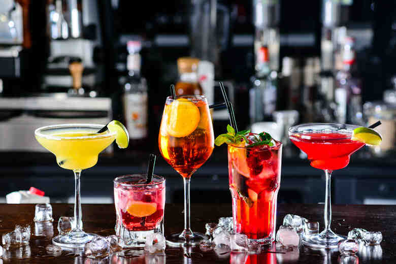 Comment s'écrit un cocktail?