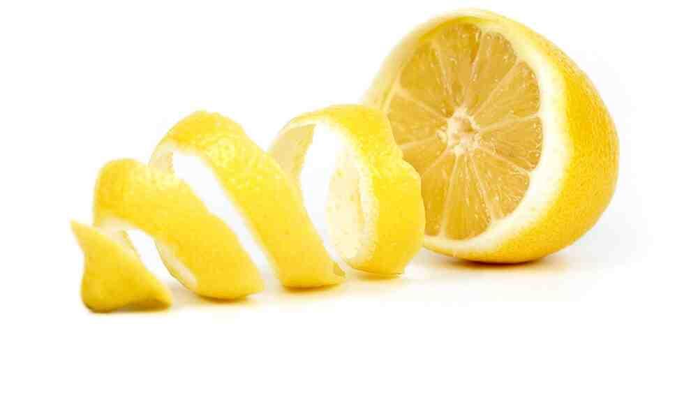 Quel est le zeste d'un citron?