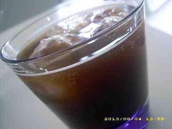Quel type d'alcool mélangé avec du cola?