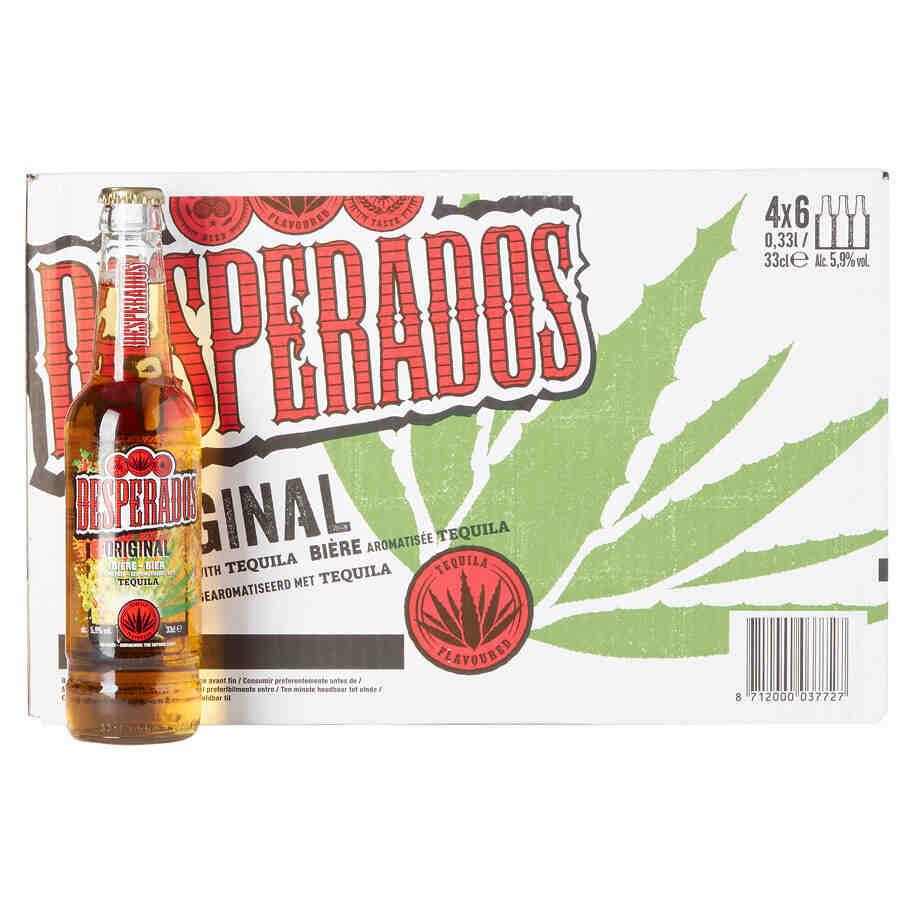 Comment boire la desperados ?