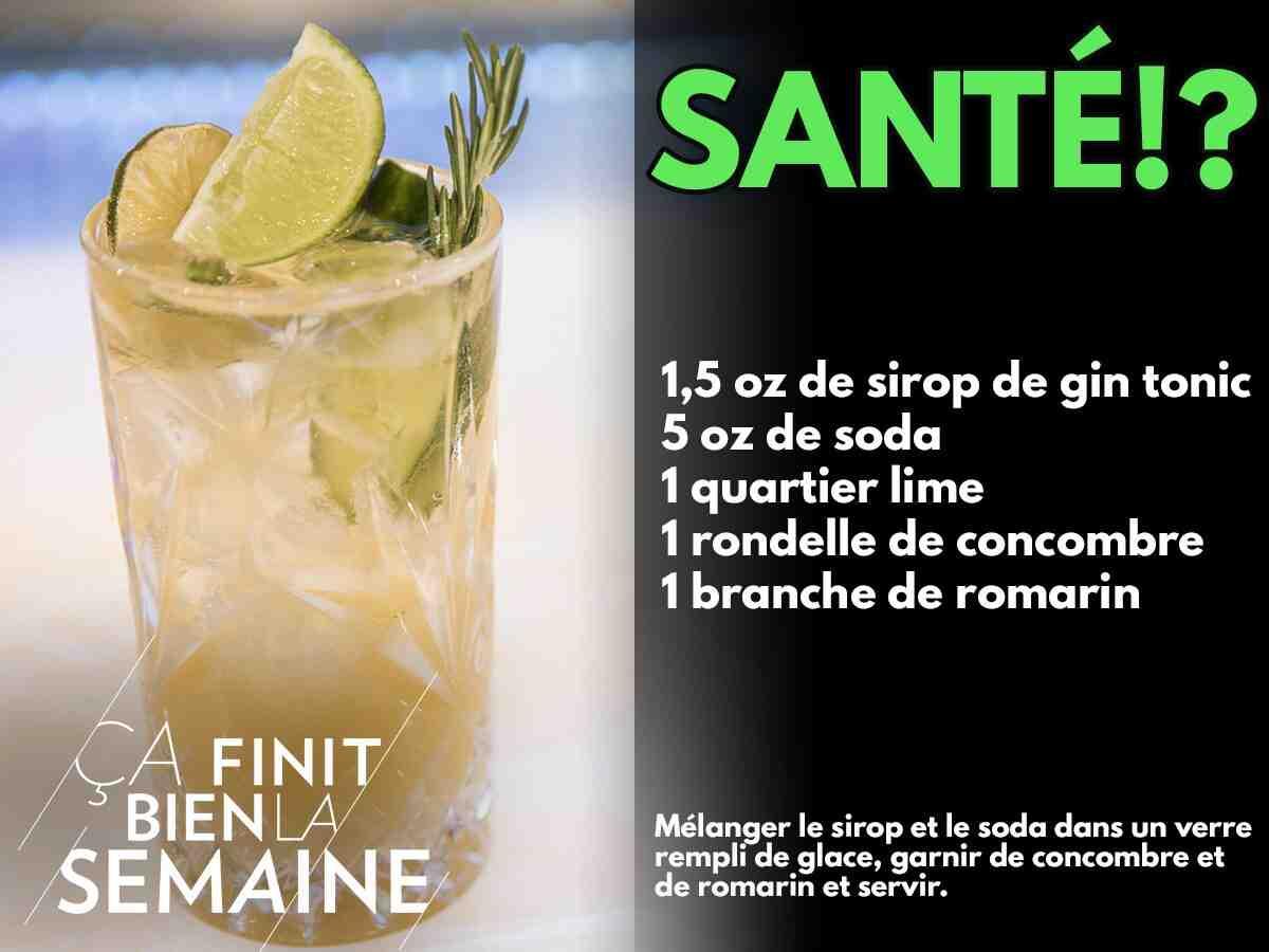 Comment garnir un gin tonic?