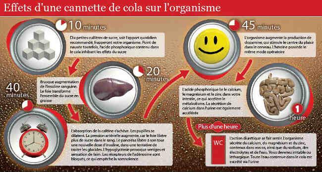 Est-il acceptable de boire du coca tous les jours?
