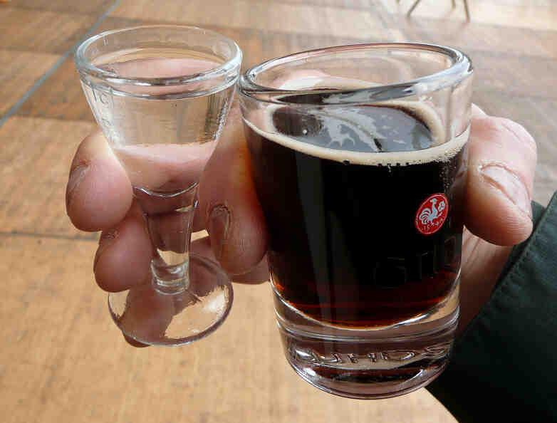 Quel genre d'alcool pour un buveur?