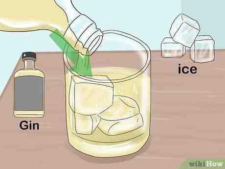 Qu'est-ce qui se mélange avec le gin?